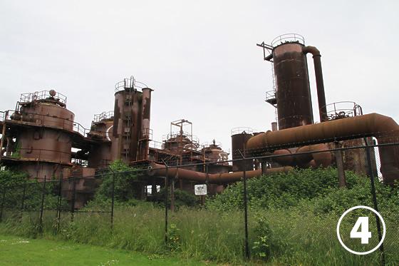 ガス・ワークス・パーク(Gas Works Park)4