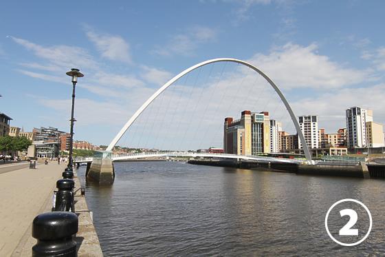 ゲーツヘッド・ミレニアム・ブリッジ(Gateshead Millenium Bridge)2