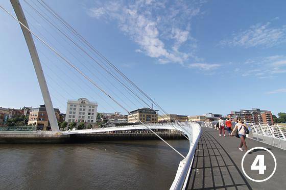 ゲーツヘッド・ミレニアム・ブリッジ(Gateshead Millenium Bridge)4