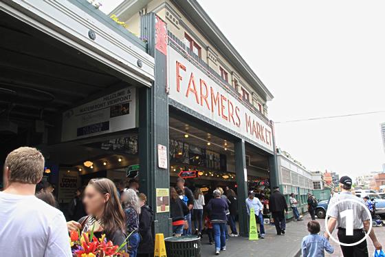 パイク・プレース・マーケット(Pike Place Market)1