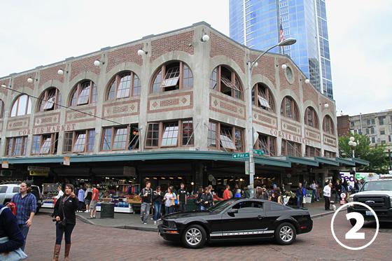 パイク・プレース・マーケット(Pike Place Market)2