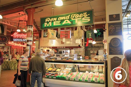 パイク・プレース・マーケット(Pike Place Market)6