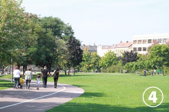 ラベット・パーク(Stadtteilpark Rabet)4