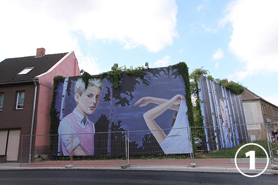 ヒンター・デム・ツォールの壁画(Hinter dem Zoll)1