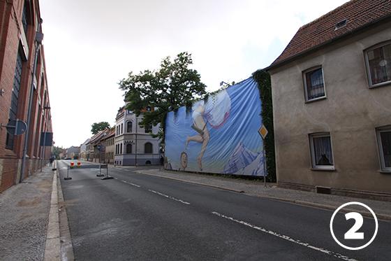 ヒンター・デム・ツォールの壁画(Hinter dem Zoll)2