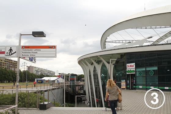 ストリッシュコフ駅(Strizkov Metro Station)3