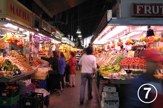 073 ボケリア市場(La Boqueria)7