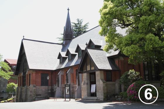 083 明治学院大学の歴史建築物の保全6
