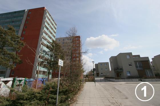 086 セオドア・シュトローム通りの減築プロジェクト(Dismantling Project of Theodor Strom Strasse)1