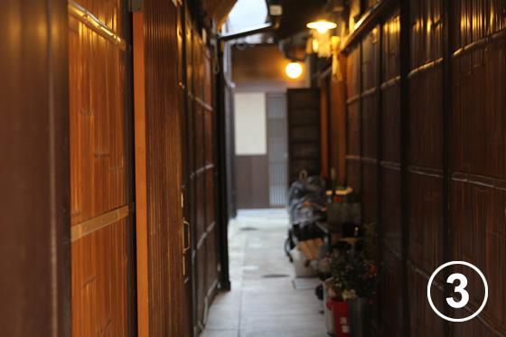 先斗町(ぽんとちょう)の景観形成3