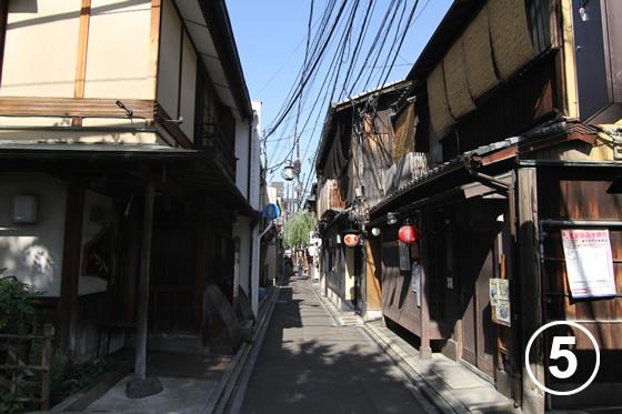 先斗町(ぽんとちょう)の景観形成5