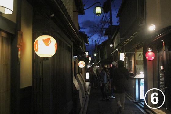 先斗町(ぽんとちょう)の景観形成6