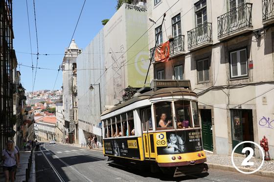 リスボンのトラム2