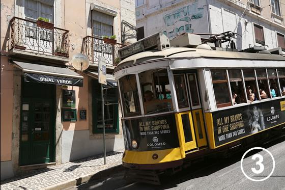 リスボンのトラム3