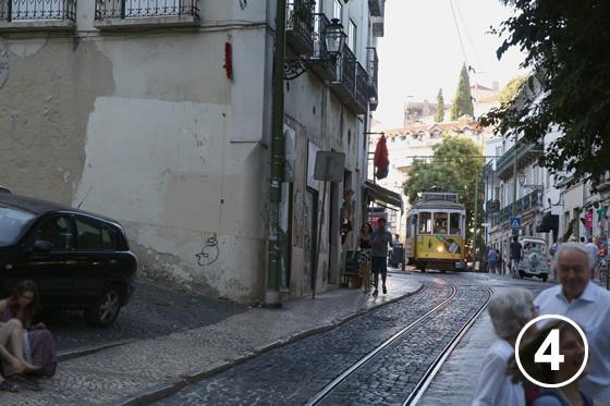 リスボンのトラム4