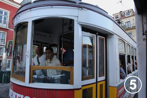 リスボンのトラム5