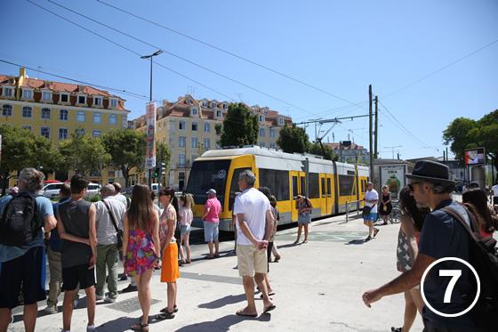 リスボンのトラム7
