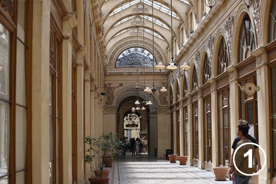 ギャルリ・ヴィヴィエンヌ (Galerie Vivienne)1