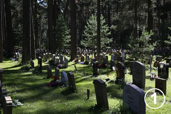 森の墓地(スコーグシュルコゴーデン)1