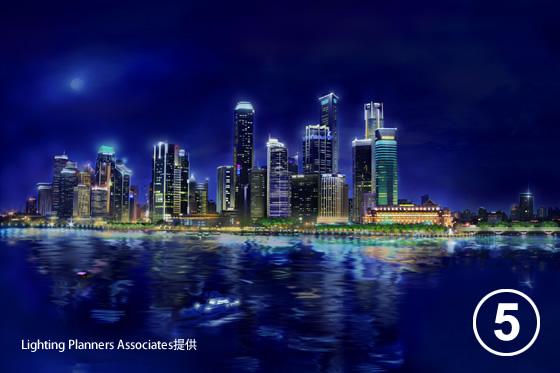 シンガポール中心市街地照明マスタープラン5