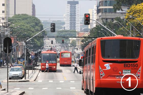 クリチバのバス・システム1