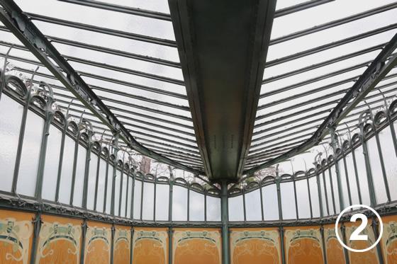 パリ地下鉄のアールヌーヴォー・デザイン2