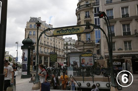 パリ地下鉄のアールヌーヴォー・デザイン6