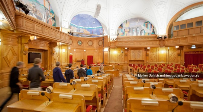 スウェーデンの国会における審議 (前編)