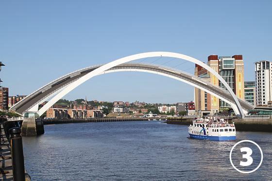 ゲーツヘッド・ミレニアム・ブリッジ(Gateshead Millenium Bridge)3