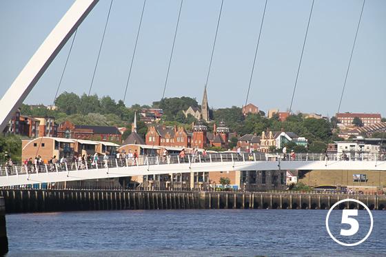 ゲーツヘッド・ミレニアム・ブリッジ(Gateshead Millenium Bridge)5