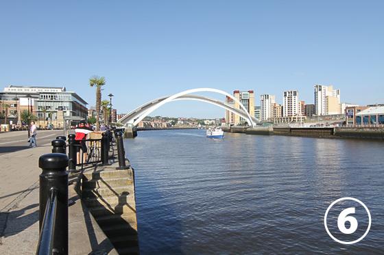 ゲーツヘッド・ミレニアム・ブリッジ(Gateshead Millenium Bridge)6