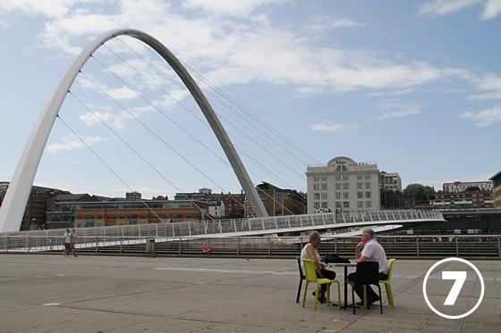 ゲーツヘッド・ミレニアム・ブリッジ(Gateshead Millenium Bridge)7