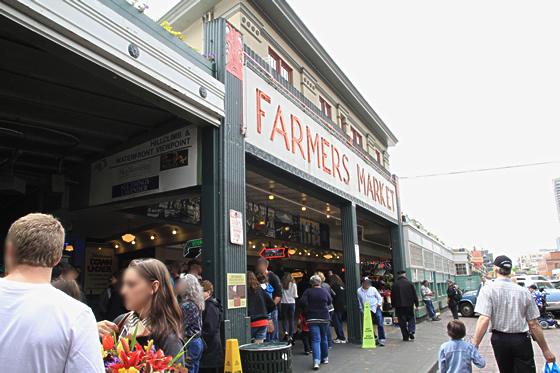 パイク・プレース・マーケット(Pike Place Market)