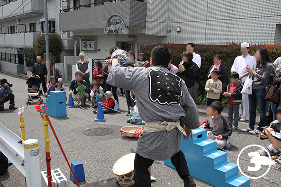 大横川の桜並木3