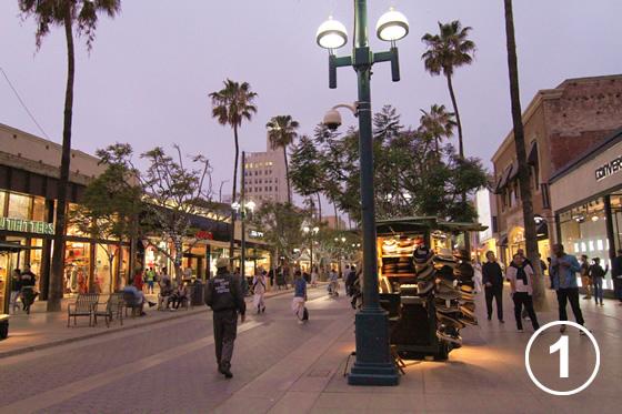 サード・ストリート・プロムナード(Third Street Promenade)1