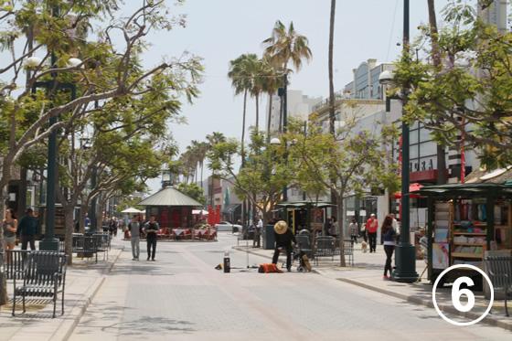 サード・ストリート・プロムナード(Third Street Promenade)6