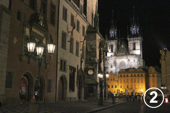 プラハのガス燈(Gas Lamps in Prague Historical District)2