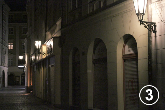 プラハのガス燈(Gas Lamps in Prague Historical District)3