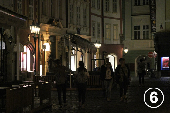プラハのガス燈(Gas Lamps in Prague Historical District)6