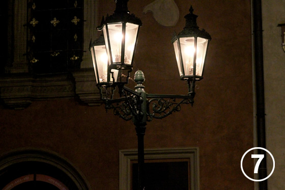 プラハのガス燈(Gas Lamps in Prague Historical District)7