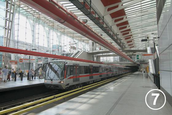 ストリッシュコフ駅(Strizkov Metro Station)7
