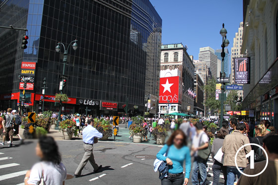 074 ブロードウェイの歩行者専用化 The Pedestrianization of Broadway, New York 1