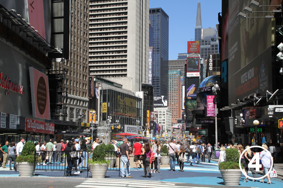 074 ブロードウェイの歩行者専用化 The Pedestrianization of Broadway, New York 4