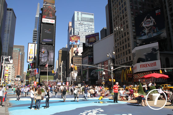 074 ブロードウェイの歩行者専用化 The Pedestrianization of Broadway, New York 7