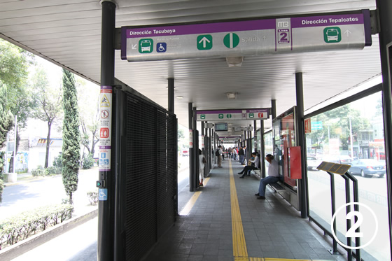095 メキシコ・シティ・メトロバス(BRT)2