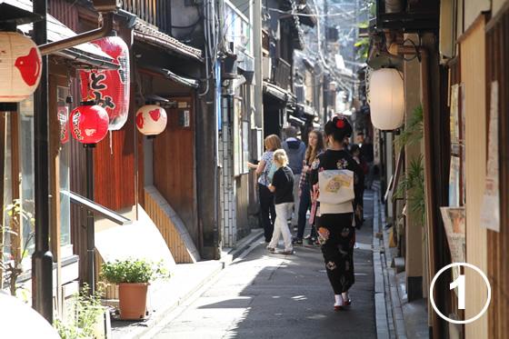 先斗町(ぽんとちょう)の景観形成1