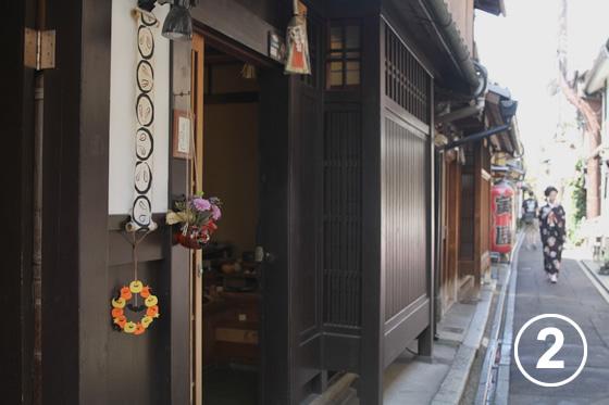 先斗町(ぽんとちょう)の景観形成2