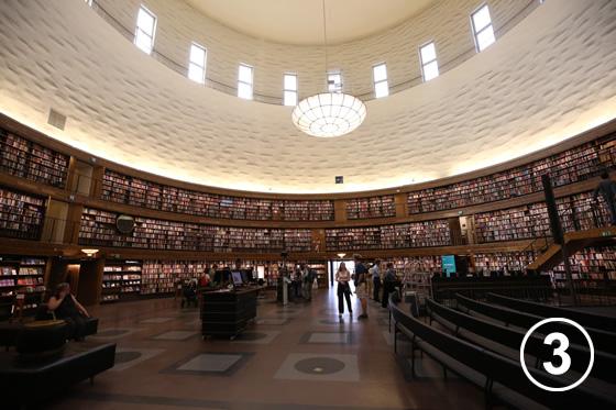 155 ストックホルム市立図書館