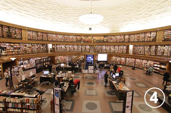 ストックホルム市立図書館4