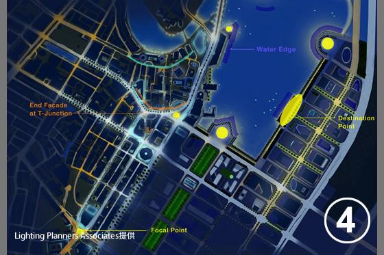 シンガポール中心市街地照明マスタープラン4